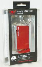 NEW Mophie Juice Pack Reserve RED Backup Battery Charger iPhone 4s iPod 30-pin