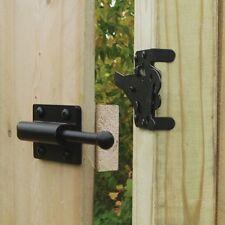 Heavy Duty Black Gate / Fence / Garden Latch Boerboel