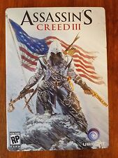 Assassin's Creed III, PS3 Limited Edition Tin Case
