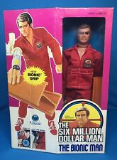 Vintage 1975 The Six Million Dollar Man Bionic Man Steve Austin Kenner Mib