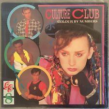 CULTURE CLUB - Colour By Numbers (Vinyl LP) Epic QE-39107