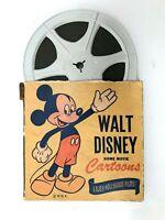 Vintage Walt Disney Home Cartoon Movie Box 8mm Reel UNTESTED