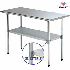 kitchen prep table small 24 commercial food prep tables for sale ebay