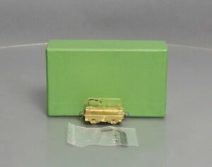 Overland 3201 3201 HO Scale BRASS PRR Scale Test Car EX/Box
