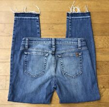 JOE'S JEANS ~Women's Skinny Distressed Frayed Hem Denim Jeans ~ SZ 26 CUTE!!