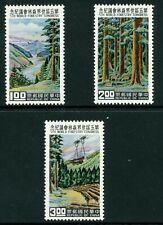 Free China 1960 Taiwan Forestry Sc #1267-69 MNH K425
