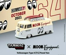 **PRE-ORDER** Tarmac Works 1:64 Schuco Volkswagen Type II T1 Panel Bus Mooneyes