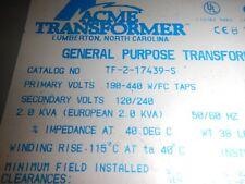 Acme General Purpose Transformer TF-2-17439-S