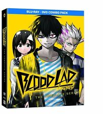 Blood Lad: The Complete Series [Blu-ray Set + DVD, Anime, Region A, 2-Disc] NEW