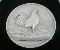 Large Silver Poultry Medal, Wilts County Egg Laying Trials, 1937 - 38