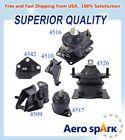 Engine Motor Transmission Mount Set 6pcs For 2003-2007 Honda Accord 2.4l Auto