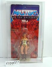 MOTU, Teela, AFA graded, Leo Toys, Masters of the Universe, MOC, carded, He Man