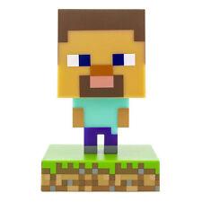 Steve Icone Luce - Minecraft - Luce Notturna Lampada da Letto