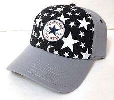 4856a7f22ce18c new CONVERSE ALL STAR CHUCK TAYLOR HAT Gray Black White Stars Snapback  Men Women