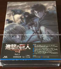 Attack on Titan Season 2 Vol.1 First Limited Edition [2 Blu-ray+Booklet] Japan