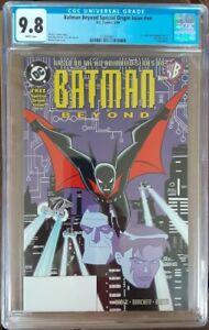 BATMAN BEYOND Special Origin Issue #nn 1ST TERRY McGINNIS DC KEY CGC 9.8