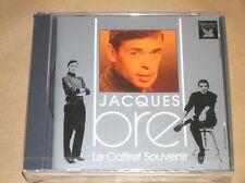 BOITIER 5 CD RARE / JACQUES BREL, LE COFFRET SOUVENIR / READER'S DIGEST / NEUF