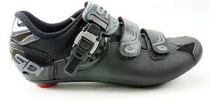 SIDI Genius 7 Road Cycling Shoes Women's Size US 9.5 EUR 42 Black 3 Bolt
