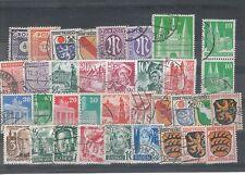 Gestempelte Ungeprüfte Deutsche Briefmarken der sowjetischen Besatzungszone aus Alliierte Besetzung