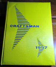 Vintage 1957 Tilden Tech Hs Yearbook - Chicago - Good Condition