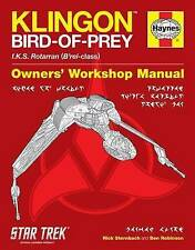 Klingon Bird-Of-Prey Haynes Manual by Ben Robinson, Rick Sternbach (Hardback, 2012)