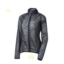 Ziener Femmes Veste cycliste de pluie Manteau vélo CIDO noir/transparent