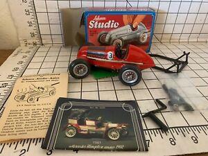 Schuco Studio 1936 Red Mercedes Grand Prix Race Car 1050 Complete Box/Tools etc
