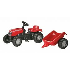 MF Massey Ferguson Pedal Tractor with Trailer X993070012305 New