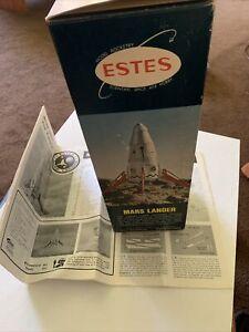 Estes MARS LANDER, Kit Vintage 1987-8, Skill Level 2, Opened