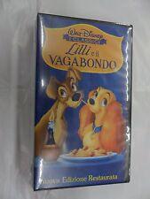 Vhs Lilli e il Vagabondo 1998 Walt Disney Univideo Cartoni classici
