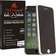 "Genuine TECHGEAR PRIVACY TEMPERED GLASS Screen Protector Apple iPhone 8 (4.7"")"