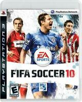 PS3 Fifa Soccer 10 Video Game Playstation NTSC T-411