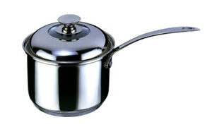 18-10 Stainless Steel Impact Covered Saucepan with Lid 18cm
