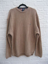 Vintage RALPH LAUREN CHAPS Mens Light Brown Sweater Jumper Sweatshirt * 2XL XXL