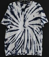 Polo Ralph Lauren Big Tall Mens Navy Blue Tie-Dye Crewneck T-Shirt NWT Size 3XLT