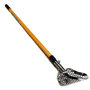 Sand Scoop Metal Detecting Hunting Tool Scout Shovel + Telescopic Travel Pole