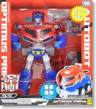Used TakaraTomy Transformers Animated TA-41 Optimus Prime Light & Sound Painted