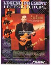1995 PEAVEY Cropper Classic Electric Guitar STEVE CROPPER Vtg Print Ad