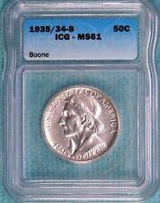 1935/34-S MS-61 Daniel Boone BiCentennial Commemorative 2003-Minted 1935 1934