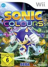 Sonic Colours [UK Import] Nintendo Wii IT IMPORT SEGA