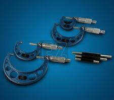 "Micrometer Set Outside C-Type Carbide Tip Premium 0-6"""