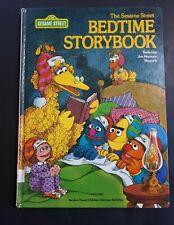 Vintage Sesame Street Bedtime Storybook 1978 Hardcover Jim Henson's