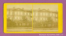 VUE STÉRÉO VIEW: PARIS EN RUINE, GUERRE 1870, CAISSE DÉPÔTS & CONSIGNATIONS -L77