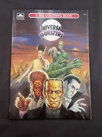 Universal Studios Monsters Golden Big Coloring Book PAPERBACK VERYGOOD