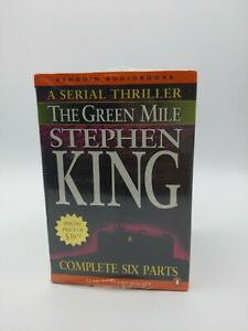 Stephen King The Green Mile Audiobooks Complete Six Parts Brand New