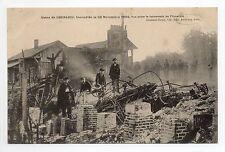 ARCIS SUR AUBE Aube CPA 10 l'usine de CHERLIEU incendie du 22 novembre 1904