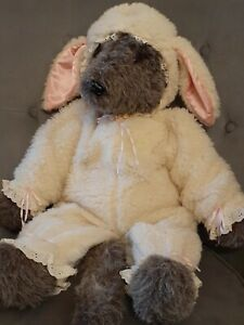 RARE Vintage 1980s HOUSE of TILLY WOLF in SHEEP'S CLOTHING Stuffed Animal PLUSH