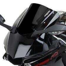 2015-2017 Yamaha R1 R1M Hotbodies Dual Radius GP Double Bubble Windshield -BLACK