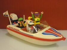 Playmobil Deportes acuáticos lancha motora Ibiza año 1992 Ref 3225