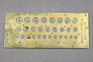 Altes Uhrmacherwerkzeug FLUME für Taschenuhr Armbanduhr Uhrwerk watchmaker tool